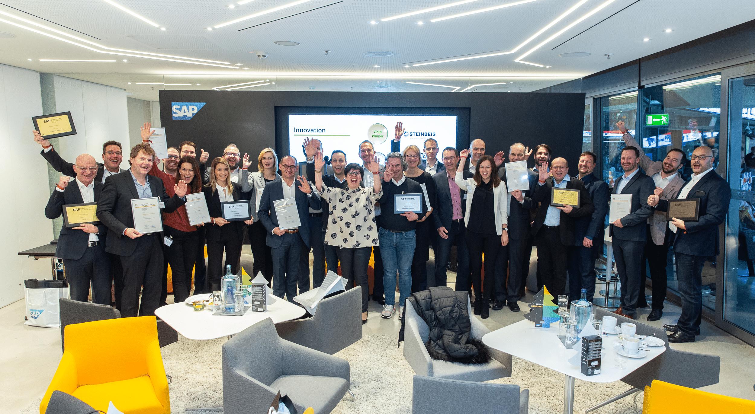INTENSE AG gewinnt den SAP Quality Award 2019