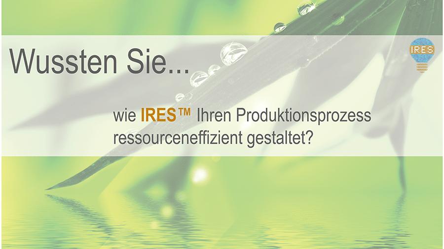 """INTENSE AG: """"Wussten Sie…dass IRES™ ein modulares Toolset ist?"""""""