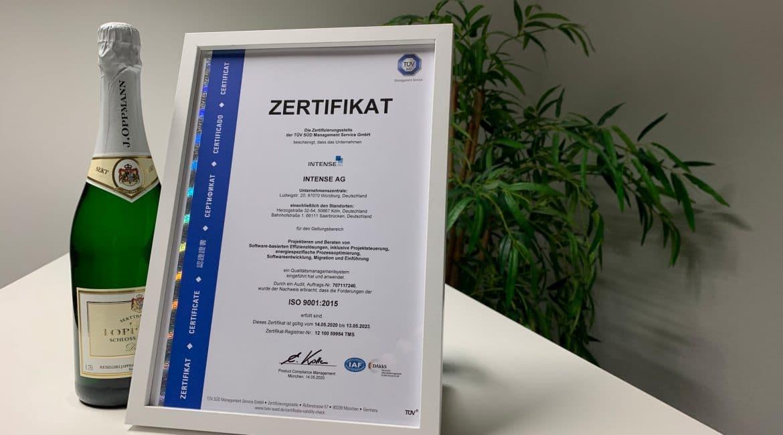 EN ISO 901:2015 Zertifikat